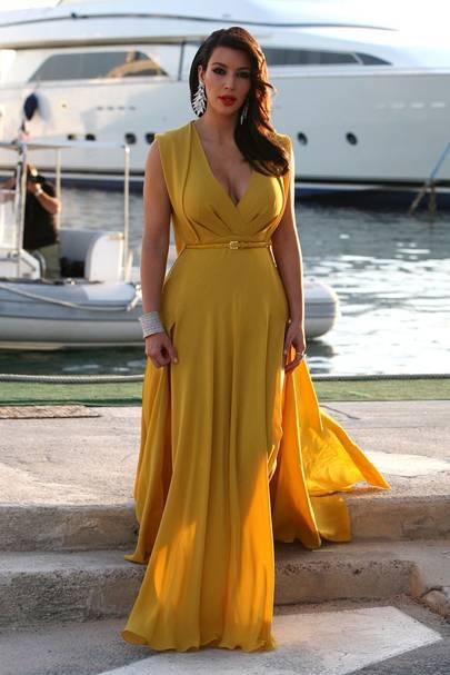 Kim Kardashian - Cannes 2012