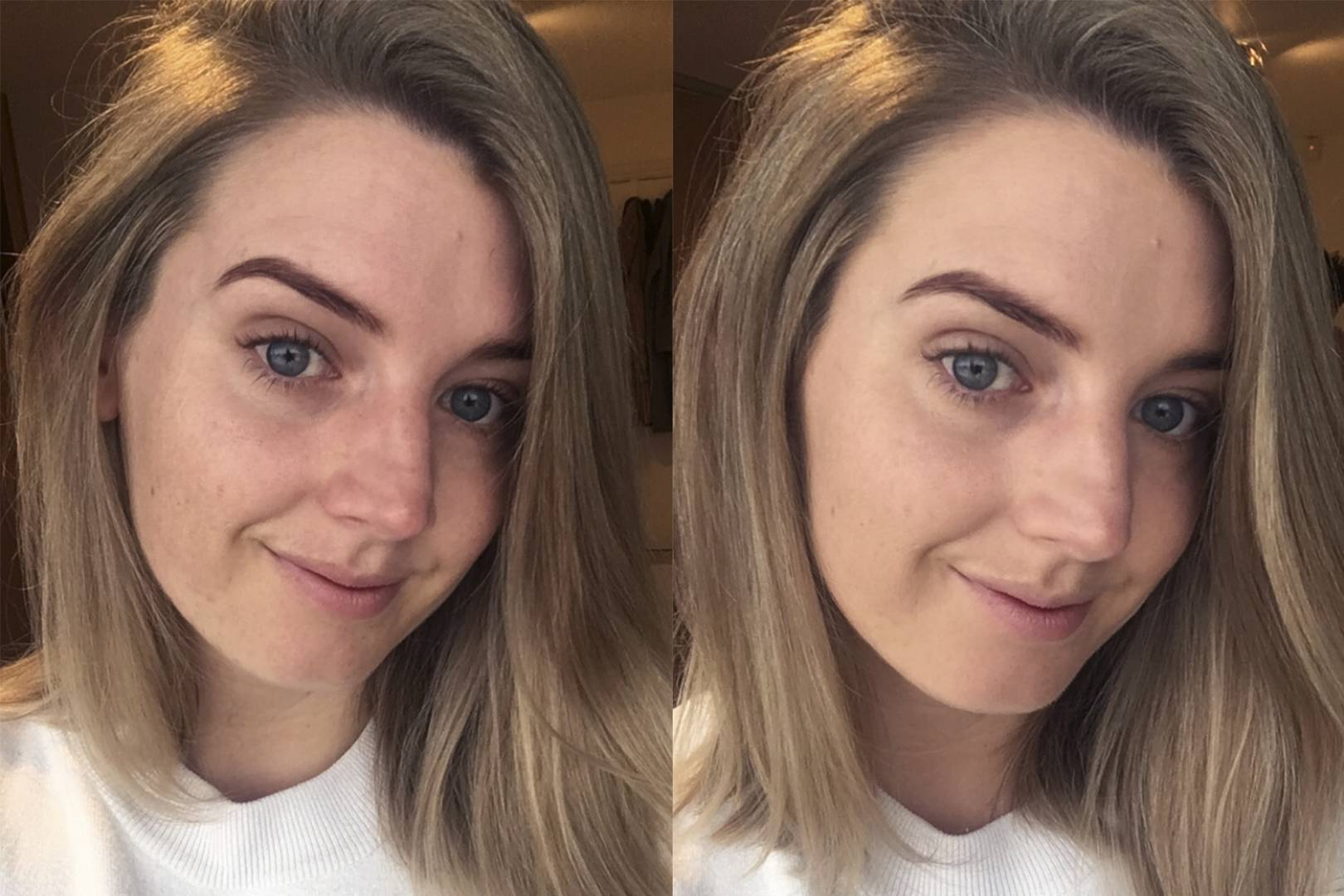 Glossier Perfecting Skin Tint Review Unfiltered Before And After Pictures Of The New Formula Glamour Uk