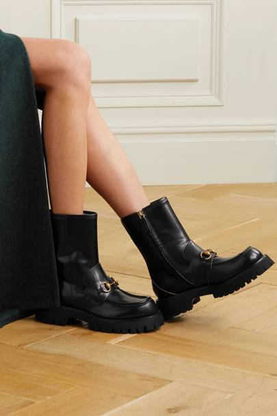 BEST BLACK BOOTS: GUCCI