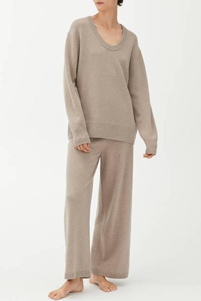 Best cashmere loungewear jumper