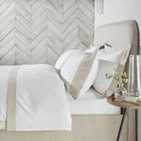 The White Company linen-edged bedding
