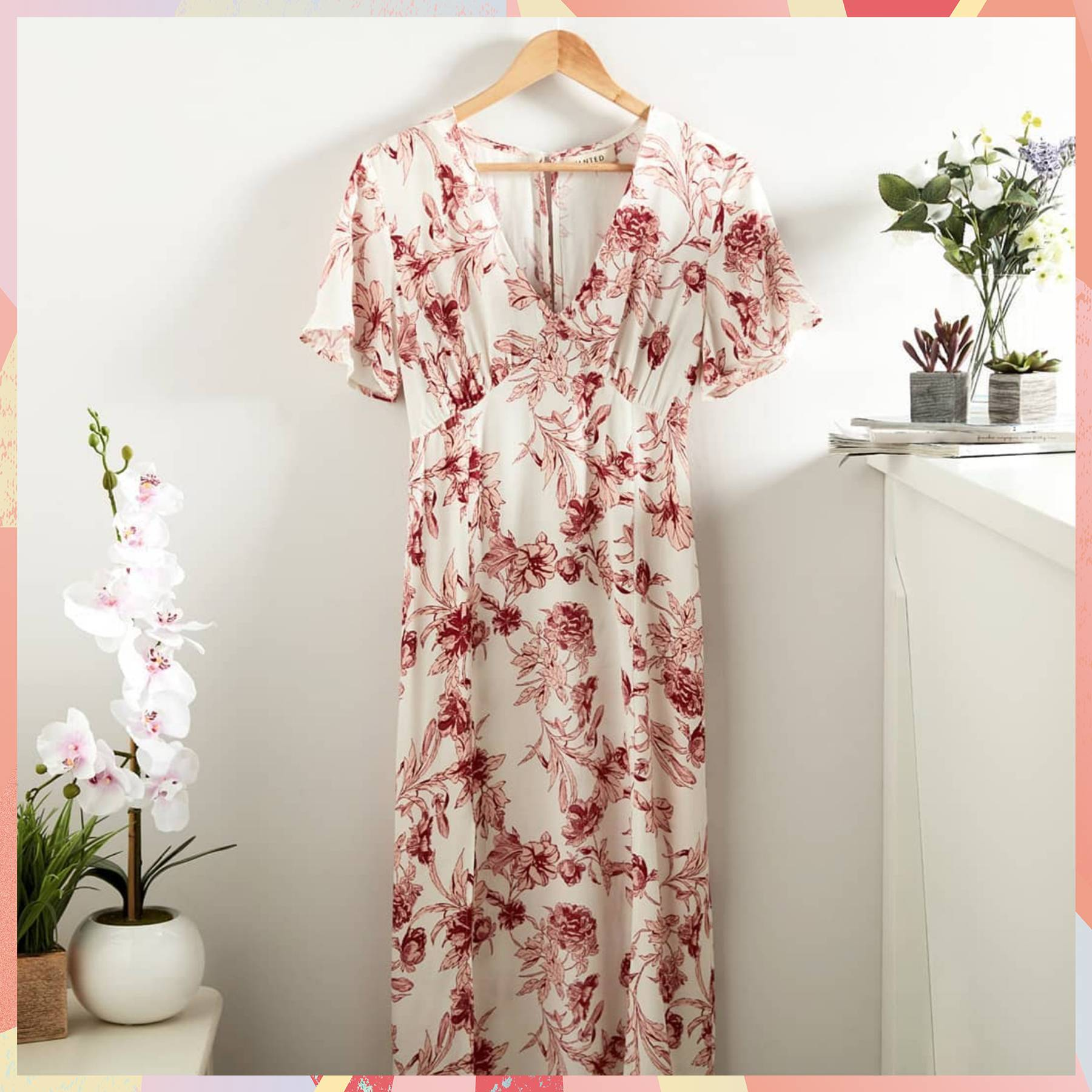 a3bdfd9fff048 This Primark Floral Dress Has Sent Instagram Into A Frenzy | Glamour UK