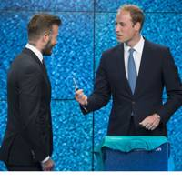 David Beckham & Prince William