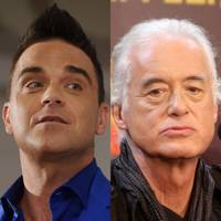 Robbie Williams & Jimmy Page