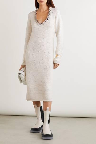BEST JUMPER DRESSES: BOTTEGA VENETA
