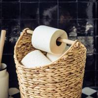 Best storage solutions: the toilet roll holder