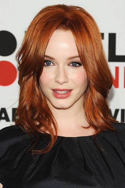 Red Hair Colours Hairstyles 2014 Auburn Ginger Glamour Uk