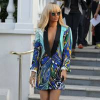 Rihanna – Jackets as Dresses