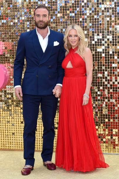 February: Kylie Minogue and Joshua Sasse