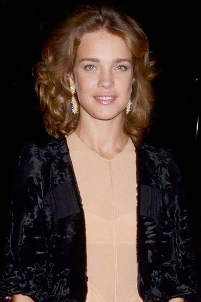 DON'T #5: Natalia Vodianova's 80s curls - October