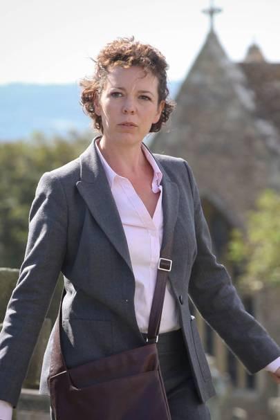 Olivia Colman as Ellie Miller - Broadchurch