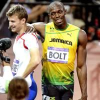 Usain Bolt & Christophe Lamaitre