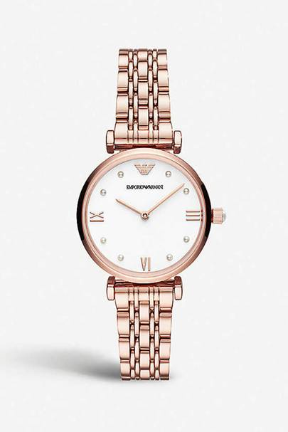 Best designer watches - rose gold plated
