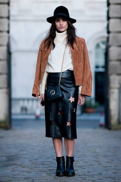 Hannah Gessler, Fashion Student