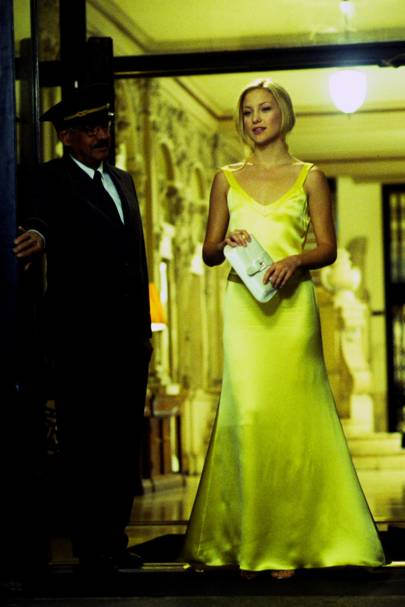 Kate hudson yellow dress