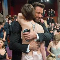 Hugh Jackman & Anne Hathaway