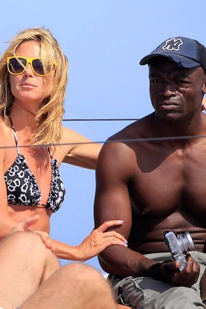 Seal & Heidi Klum