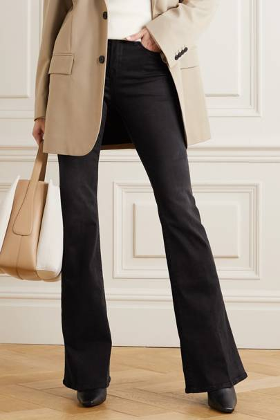 Best Black Jeans - Flared Leg