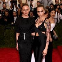 Cara Delevingne and Stella McCartney