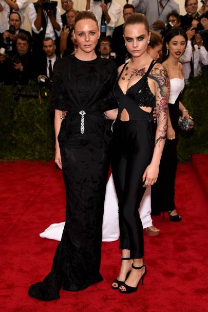 Cara Delevingne and Stella McCartney