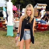 Laura Whitmore at V Festival