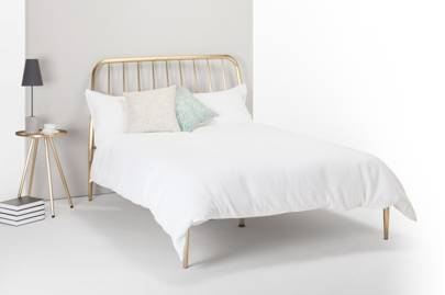 Made.com Black Friday deals 2020: the copper-framed double bed