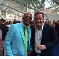 Samuel L. Jackson & Piers Morgan
