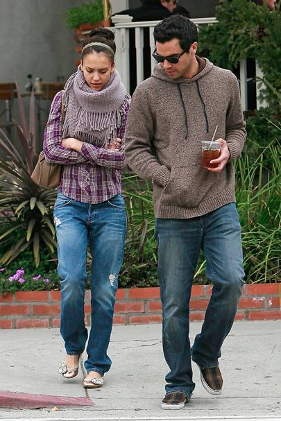 Jessica Alba & Cash Warren