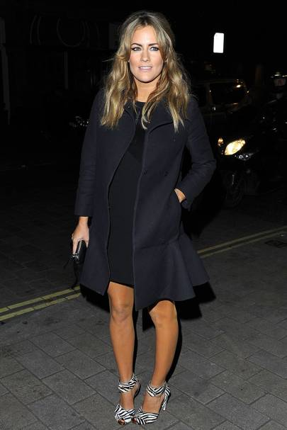 Caroline Flack at the British Heart Foundation party