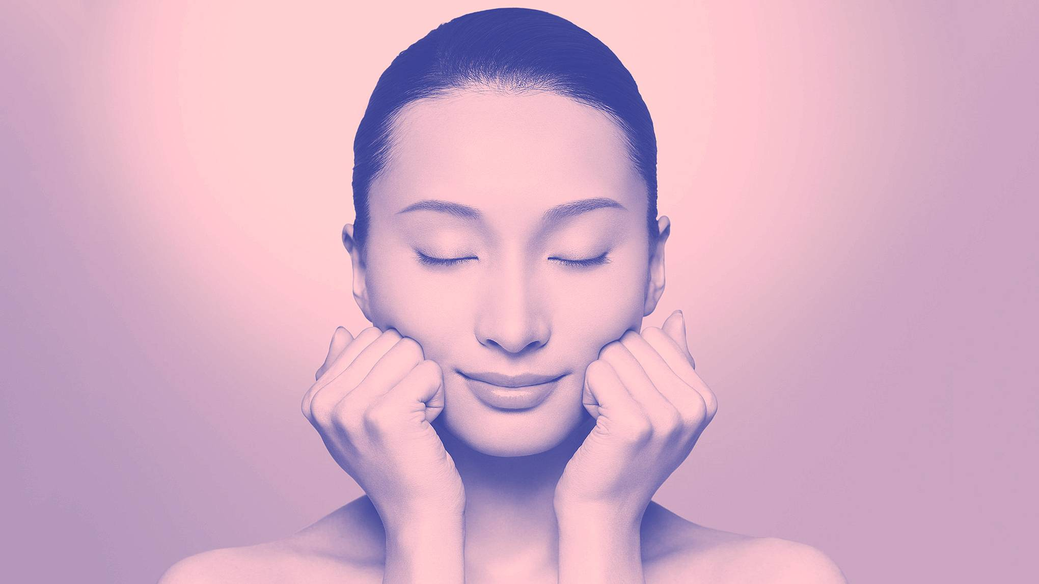 lymphatic drainage self massage face