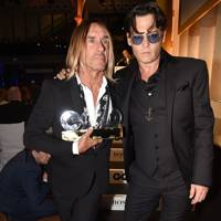 Iggy Pop & Johnny Depp