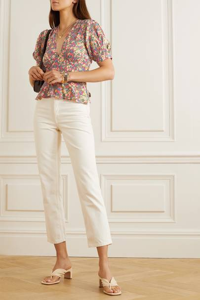 Best floral top on sale