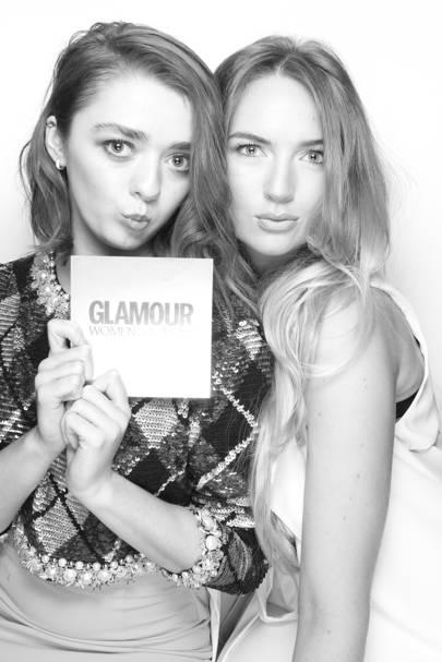 Maisie Williams & Pal