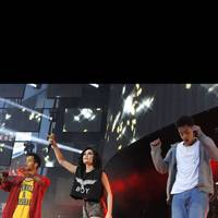 Jessie J and Rizzle Kicks at Capital FM's Summertime Ball