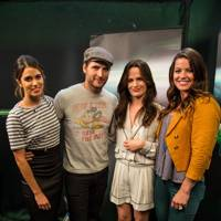Nikki Reed, Peter Facinelli and Elizabeth Reaser at Comic-Con 2012