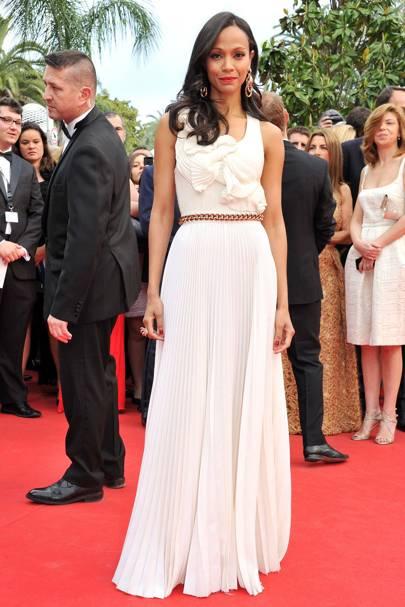 Zoe Saldana - Cannes 2014