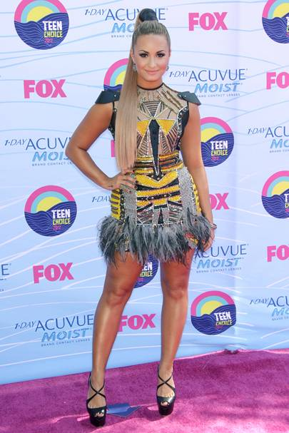 Demi Lovato at the Teen Choice Awards 2012