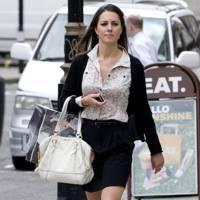 Kate Middleton – Black Skirting It
