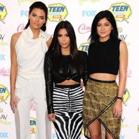 Kendall Jenner, Kim Kardashian & Kylie Jenner