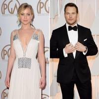 Glamour: Jennifer Lawrence & Chris Pratt