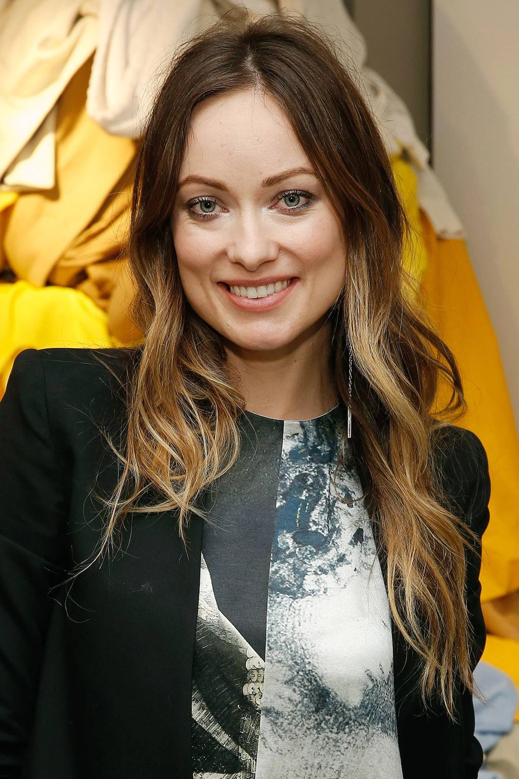 Ombre Hair Colour Dip Dye Celebrity Hairstyles Glamour Uk