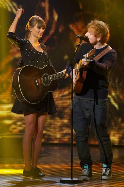 Is ed sheeran dating the girl he wrote + about