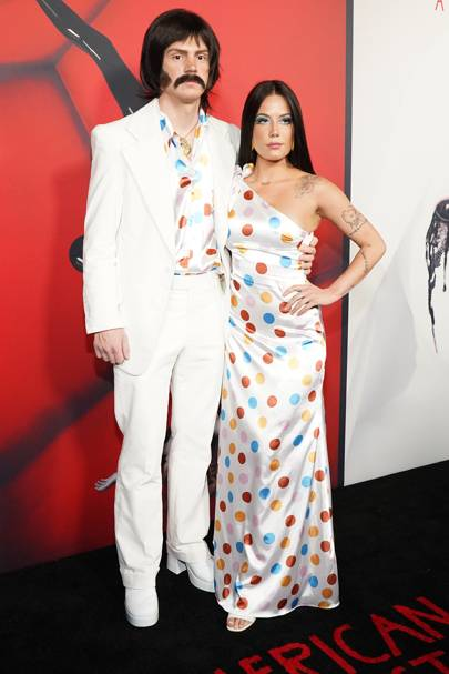 Halsey and Evan Peters as Sonny and Cher