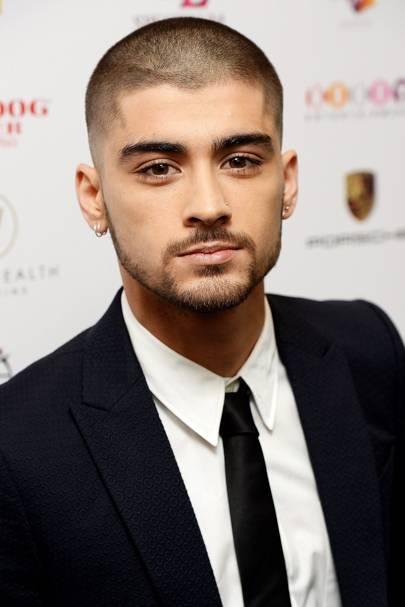 Zayn Malik Hair Hairstyles Blonde Floppy Shaved Pink - Zayn malik latest hairstyle 2015
