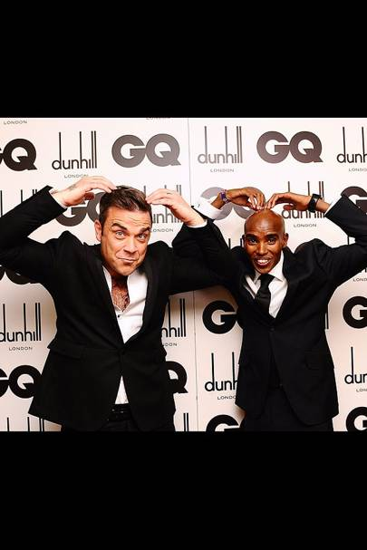 Robbie Williams & Mo Farah