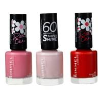 Rimmel London 60 Seconds Super Shine Nail Polish (3 variations)