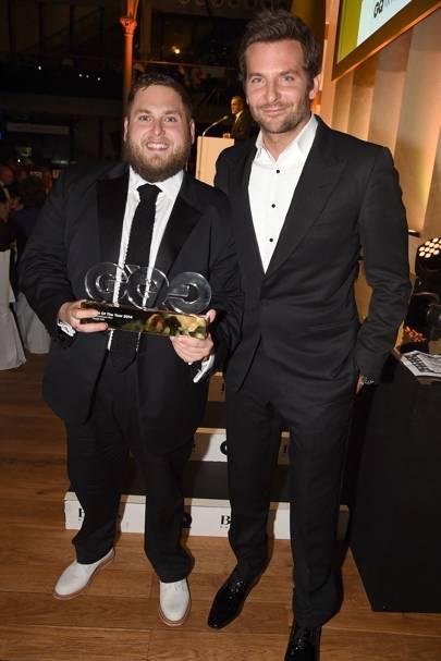 Jonah Hill & Bradley Cooper