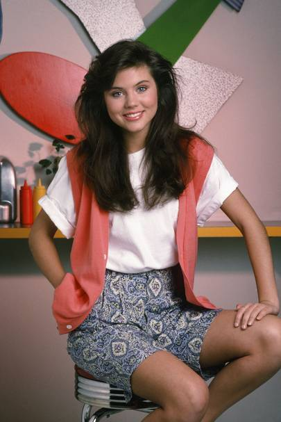 Tiffani Thiesson in Saved by the Bell