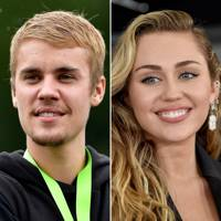Justin Beiber and Miley Cyrus