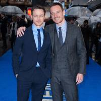 James McAvoy & Michael Fassbender